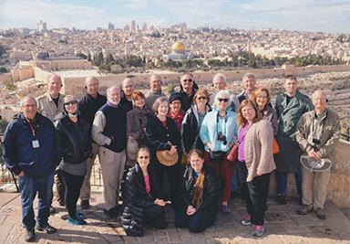 Group Shot at Temple Mount